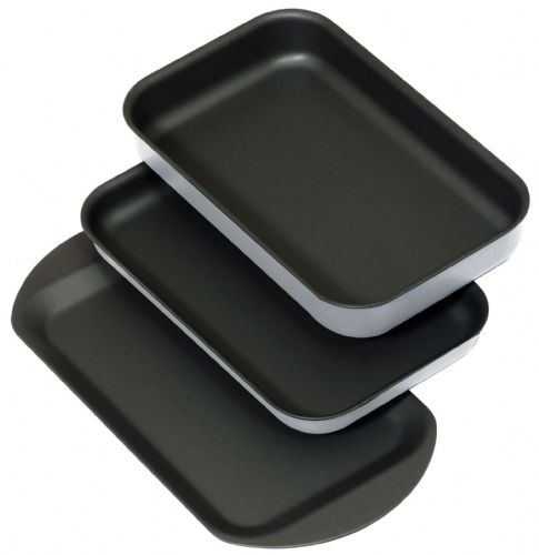 Samuel Groves 1.6mm Aluminium Non Stick Companion Trio